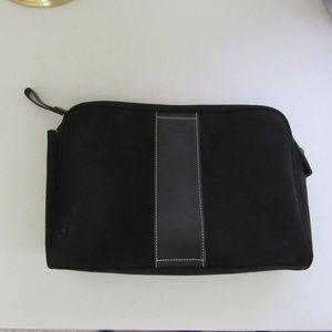 Coach Large Makeup Bag Black